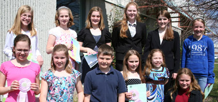 2009 Speech Contest Winners