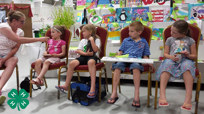 4-H Clover Kids - one of the many events livestreamed during the Lancaster County Super Fair