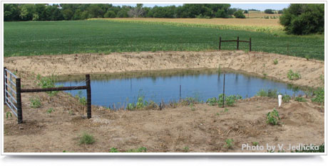 Handling waste water nebraska extension in lancaster county for Design of stabilisation pond
