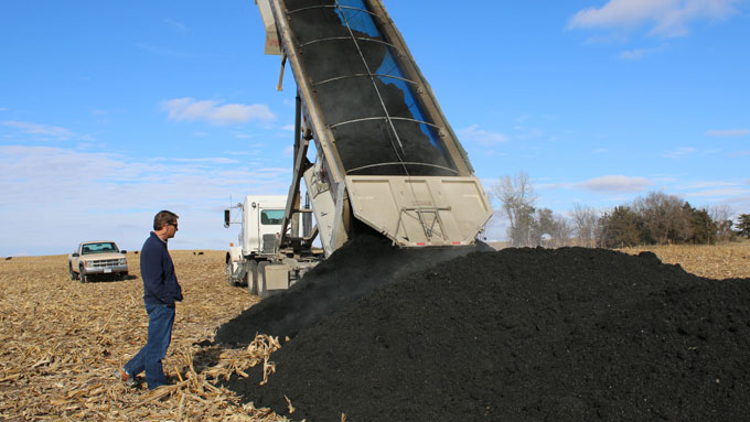Nebraska Extension in Lancaster County coordinates the biosolids program for the City of Lincoln