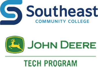 Southeast Community College and John Deer Tech logos