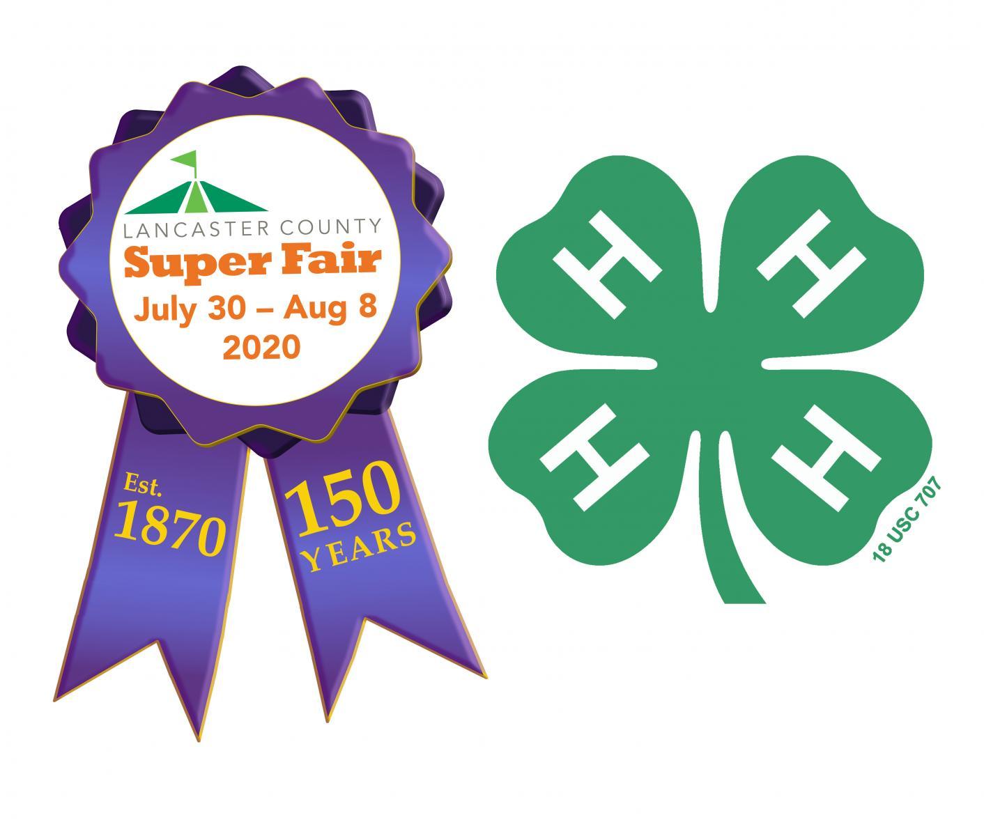 Super Fair 4-H logos