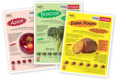 Examples of Fruit and Vegetable Fact Sheets