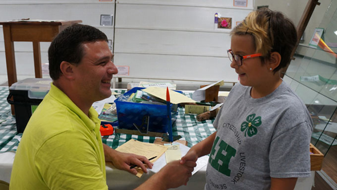 4-H youth at the Lancaster County Super Fair